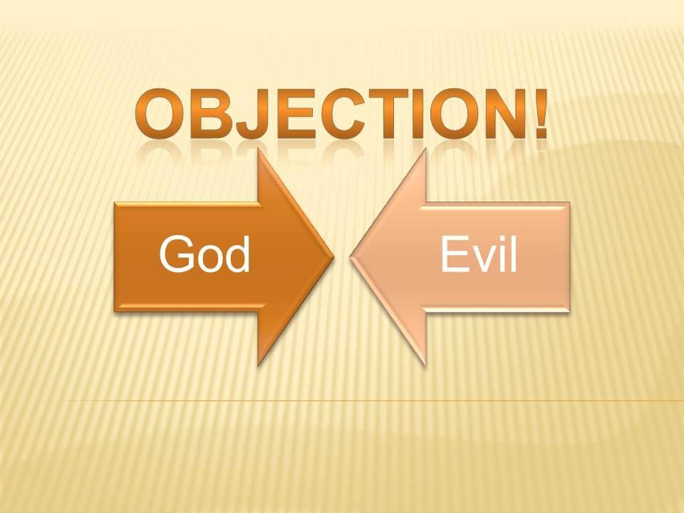 God judgment evil