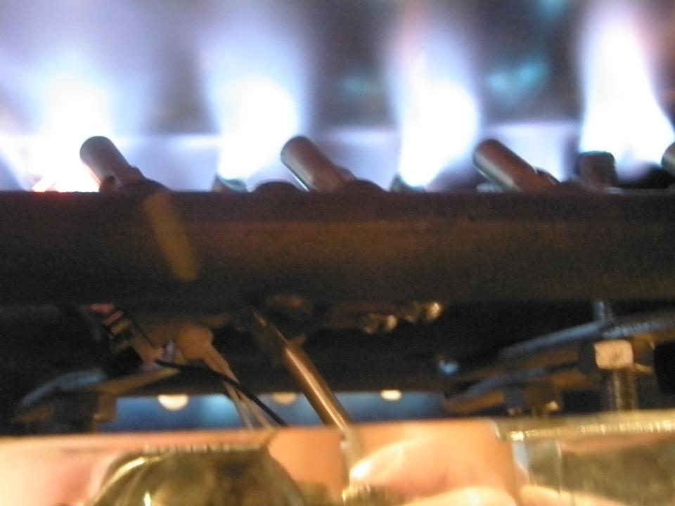 Coffee Roaster Fire Flames