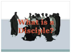 Christ definition disciple what is disciple christian