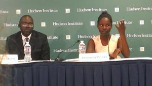 Debbie speaks to Hudson Institute